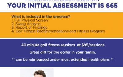 The TPI Golf Fitness Program. Spring Special
