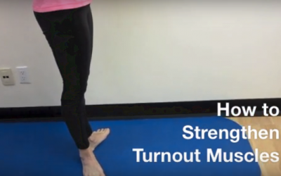 Strengthening your turnout muscles.